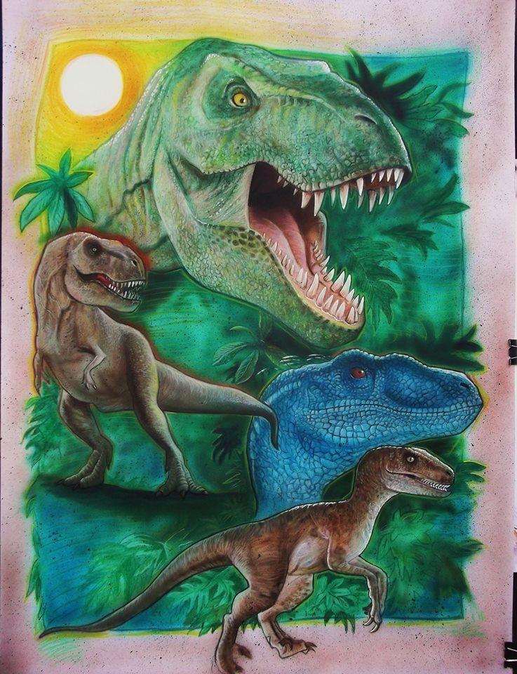 Jurassic Park by stephane014